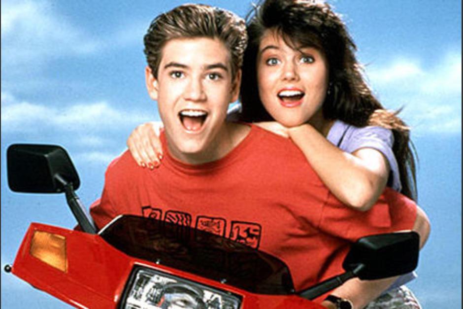 """A pesar de que """"Zack"""" y """"Kelly"""" derramaban miel, la historia de amor no salió de la pantalla. (Foto: Archivo)"""
