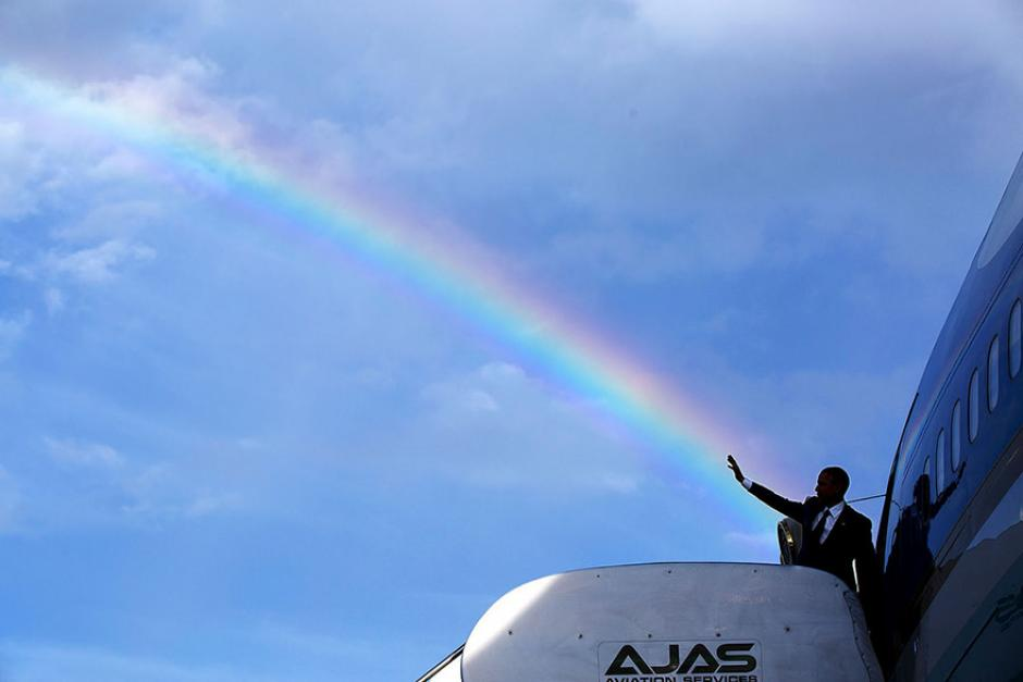 El presidente Barack Obama durante su despedida de Jamaica (Foto: Pete Souza/ La Casa Blanca)