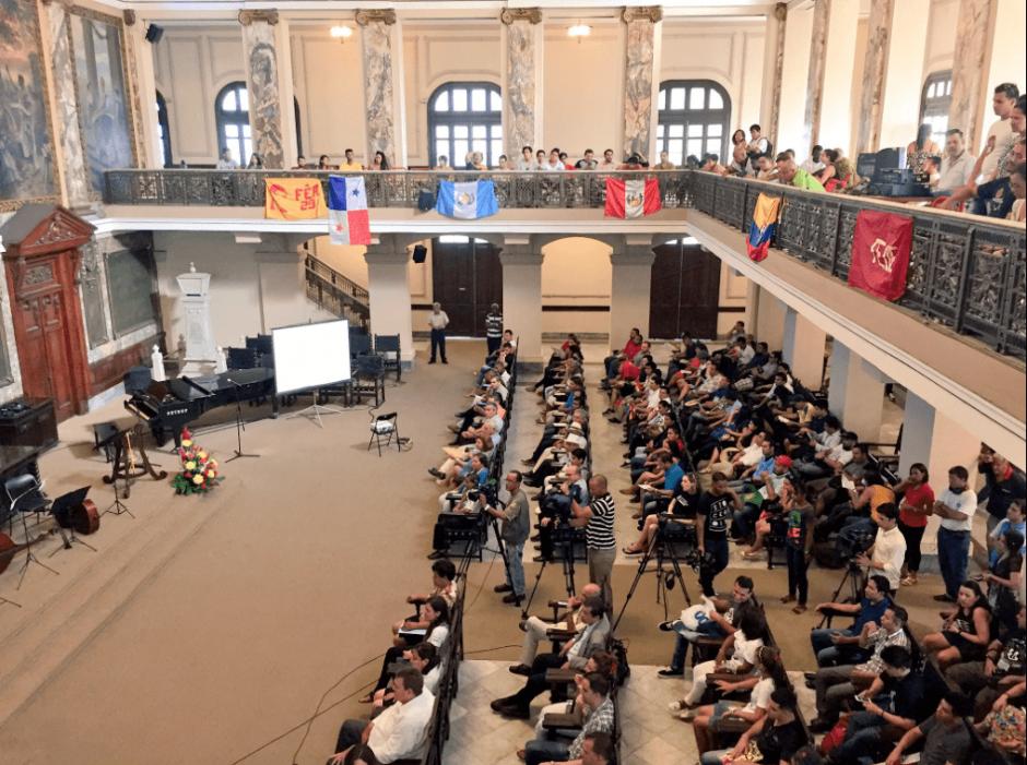 En total, 120 estudiantes de 24 países participaron en el evento. (Foto: @LeonardoChangC/Twitter)