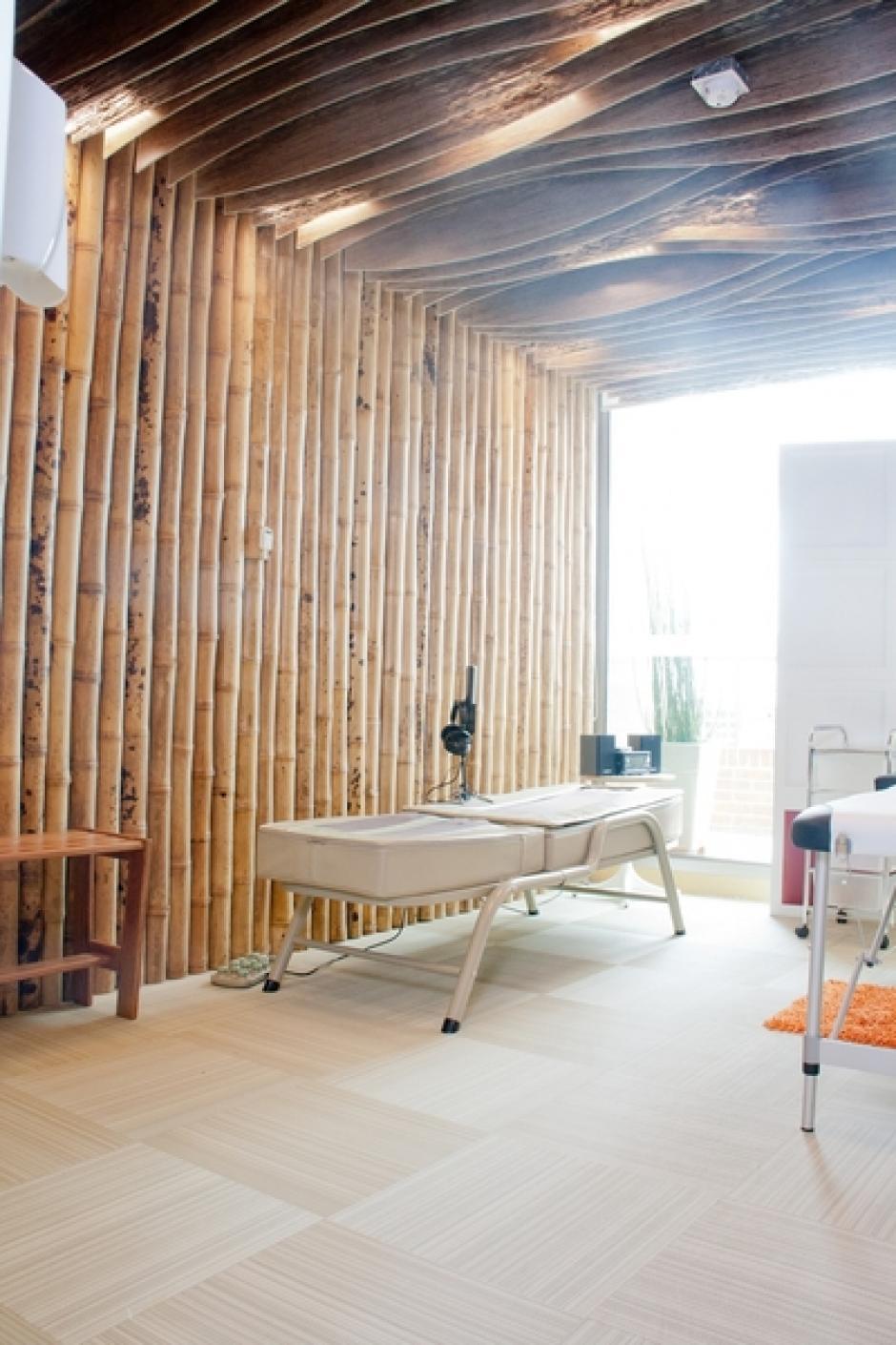 En la elaboración de los ambientes participaron artesanos de Boyacá y Santander, Colombia.