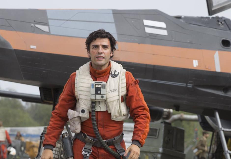 Poe Dameron es un piloto de caza estelar Ala-X. (Foto Entertainment Weekly)