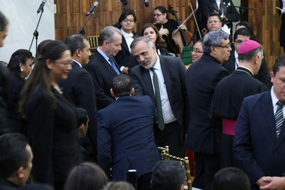 El titular de la Cicig, Iván Velásquez fue uno de los invitados especiales. (Foto: Alejandro Balan/Soy502)