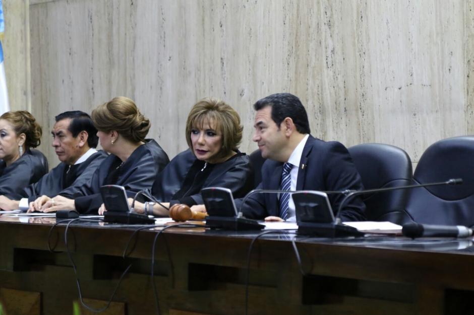 Silvia Patricia Valdés Quezada asumió la presidencia del Organismo Judicial. (Foto: Alejandro Balan/Soy502)