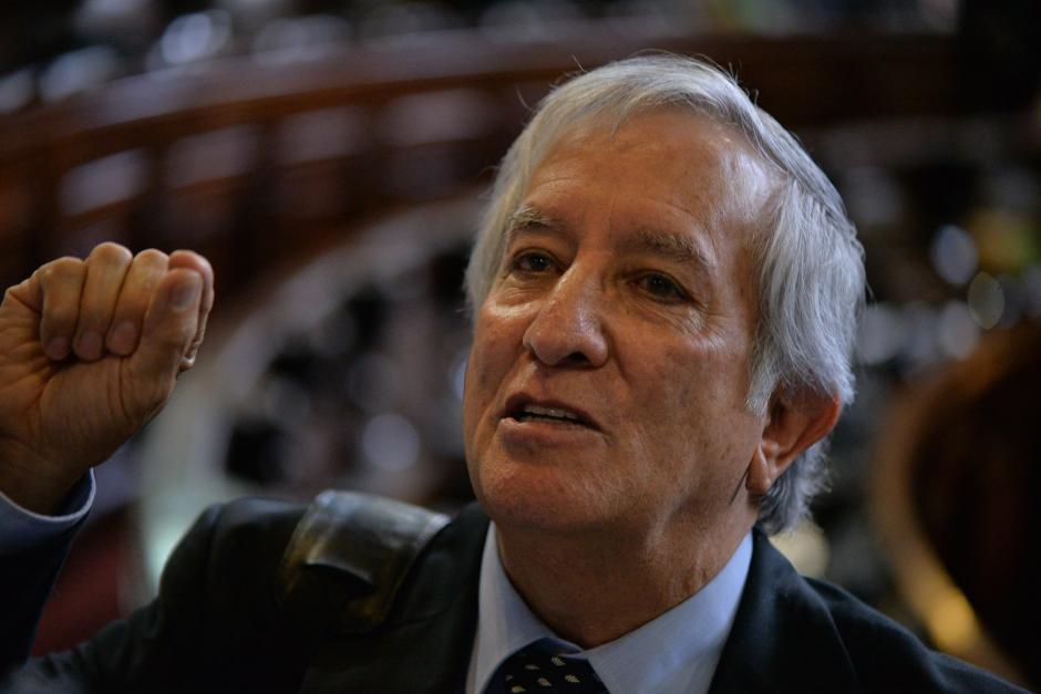 Oliverio García Rodas participó en la Asamblea Nacional Constituyente. (Foto: Archivo/Soy502)
