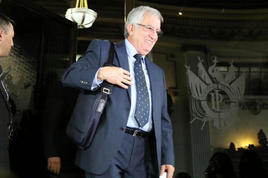 Oliverio García Rodas es la opción del oficialismo para relevar a Taracena. (Foto: Alejandro Balán/Soy502)