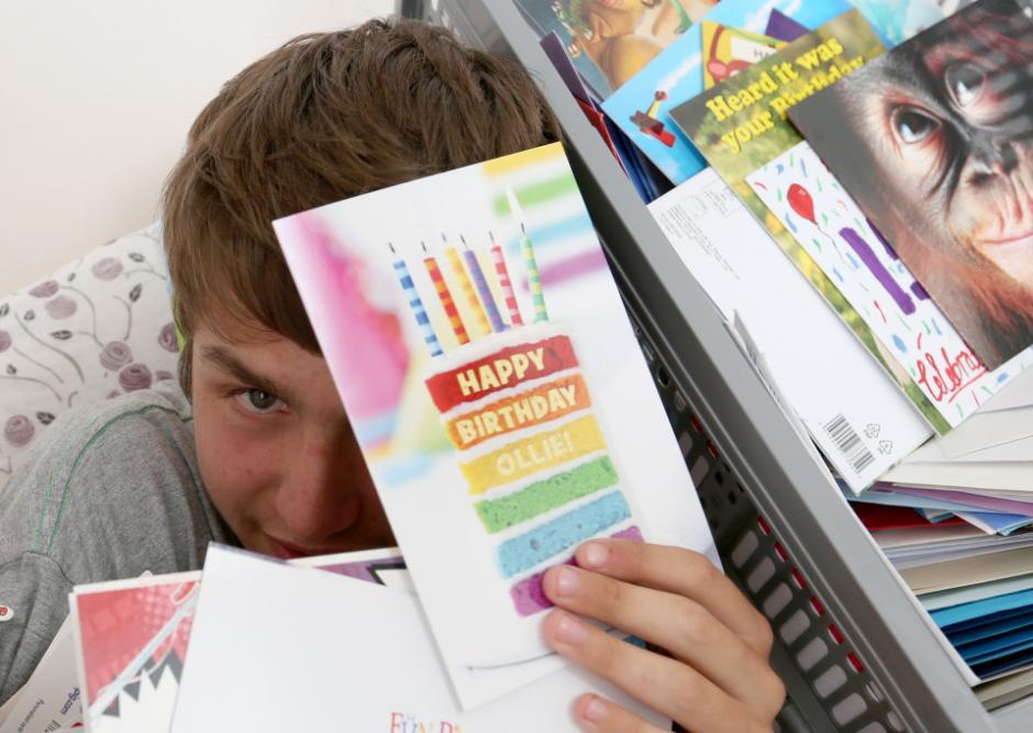 Ollie es un niño autista que recién cumplió 15 años. (Foto: thesun.co.uk)