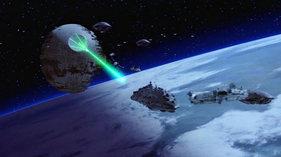 El ataque de la Estrella de la Muerte. (Foto: latino.starwars.com)