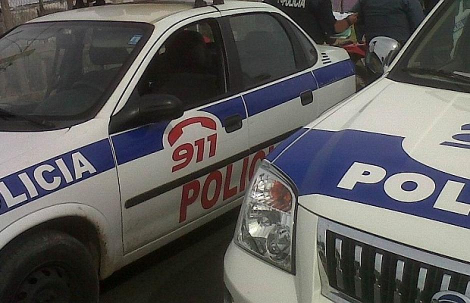 La Policía encontró más de 30 disparos en la escena del ataque. (Foto: Teledoce)