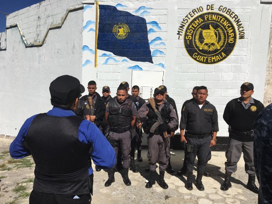 Las autoridades reforzaron la seguridad para evitar problemas durante las fiestas de fin de año. (Foto: Dirección General del Sistema Penitenciario)