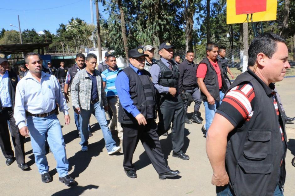 Los operativos culminan en la segunda semana de enero. (Foto: Dirección General del Sistema Penitenciario)