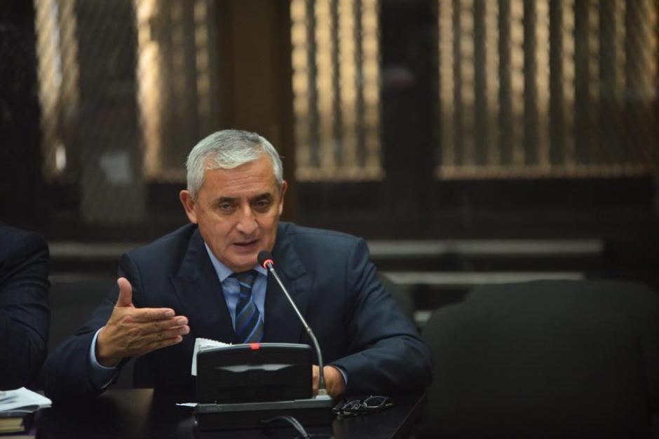 El exgobernante decidió defenderse de los señalamientos que hiciera la fiscalía sobre el caso La Línea. (Foto: Jesús Alfonso/Soy502)