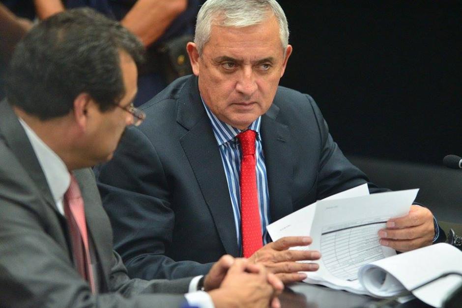 El Ministerio Público otorgó copias de los medios de prueba con las que solicitará se ligue a proceso al expresidente Otto Pérez Molina. (Foto: Wilder López/Soy502)