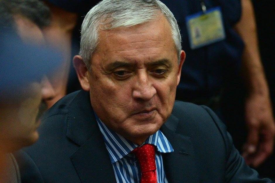 Por primera vez en la historia del paí, un presidente, aún en su cargo, se sienta en el banquillo de los acusados por corrupción. (Foto: Wilder López/Soy502)
