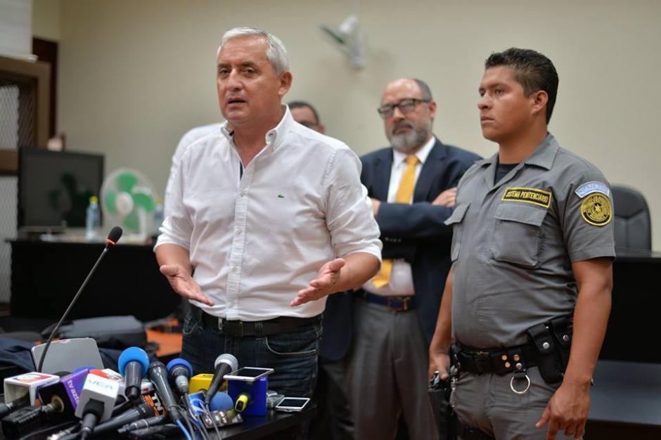 """El exfuncionario arremetió contra Salvador Estuardo González """"Eco"""". (Foto: Wilder López/Soy502)"""