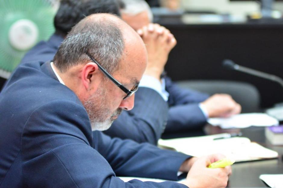 El abogado Moisés Galindo, quien también defendió a Byron Lima forma parte del equipo de la defensa de Otto Pérz Molina. (Foto: Jesús Alfonso/Soy502)