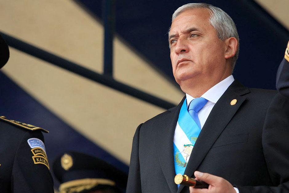 El máximo mandatario guatemalteco expresó sus condolencias a través de un comunicado de prensa.