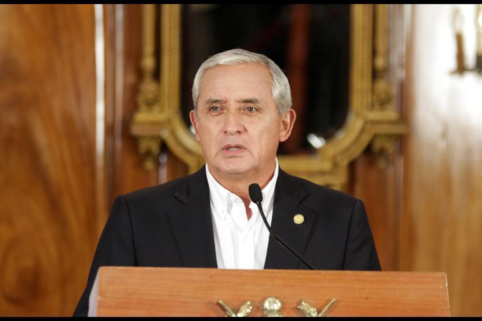 Otto Pérez Molina fue presidente entre el 2012 y el 2015 presentó su renuncia luego de supuesta vinculación con una red de defraudación aduanera conocida como La Línea. (Foto: Archivo/ Soy502)