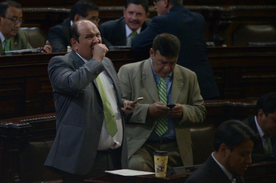 La discusión en primer debate de las reformas duró más de una hora. (Foto: Wilder López/Soy502)