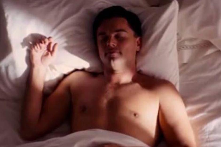 El actor Leonardo DiCaprio soñaba con ganar un Óscar. (Foto: Video Facebook)