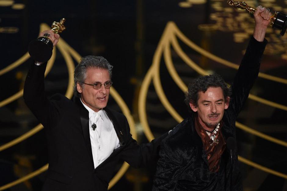 Mad Max es la gran ganadora de la noche, con seis estatuillas. (Foto: AFP)