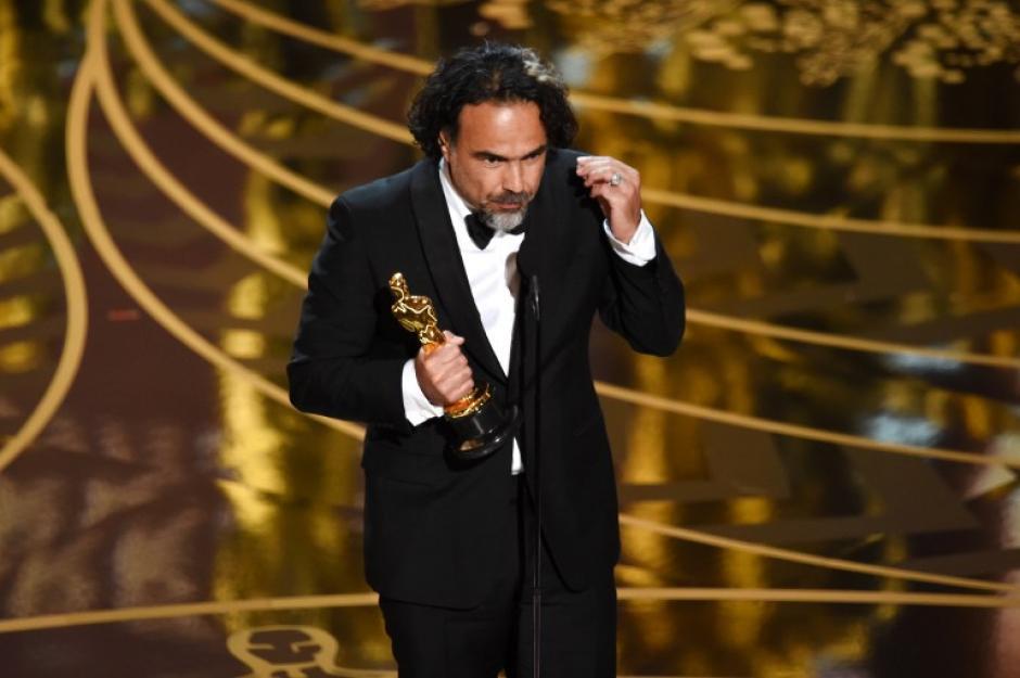 """El mejor director fue para Alejandro González Iñarritu con la película """"El Renacido"""" (Foto: AFP)"""