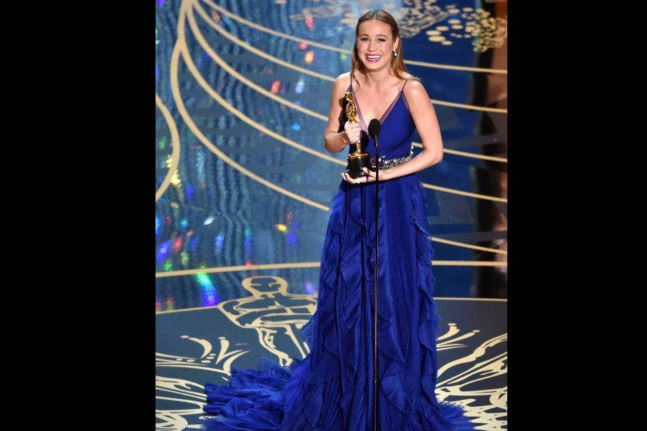 """Brie Larson gana como mejor actriz con """"Room"""" (Foto: AFP)"""