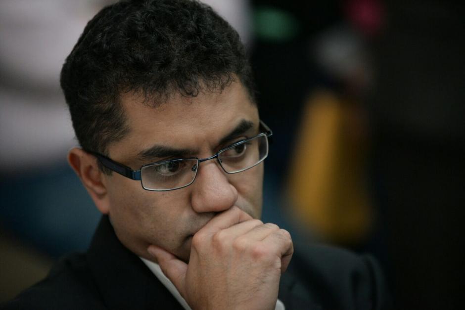 Oscar Armando García Muñoz es el exgerente del IGSS sindicado del fraude. (Foto: Wilder López/Soy502)