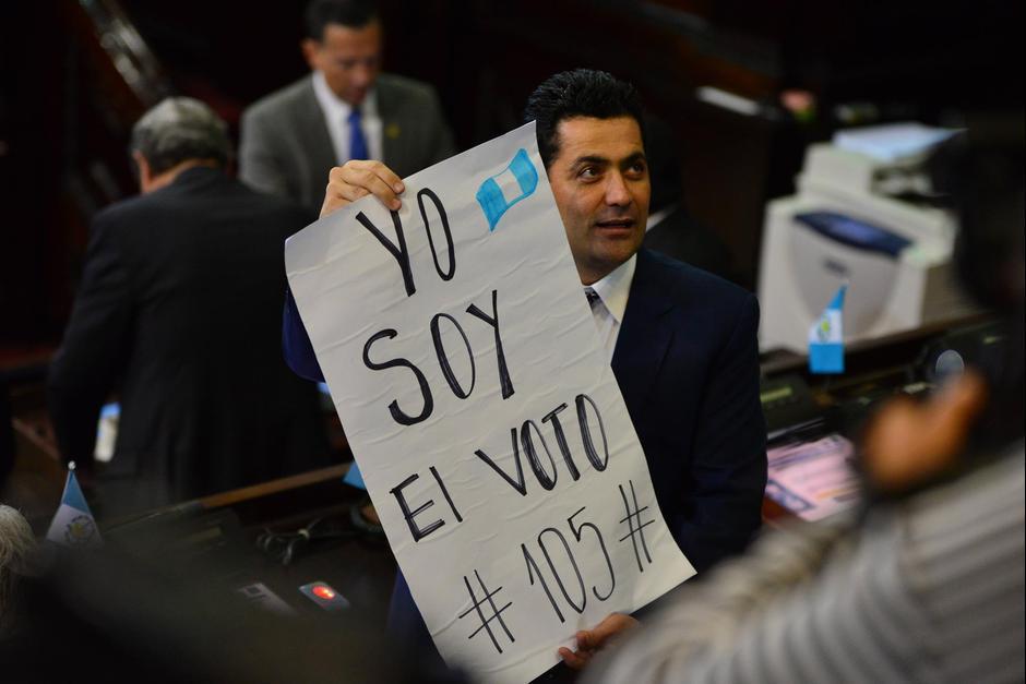 Óscar Chinchilla es la opción del oficialismo para buscar la presidencia del Congreso. (Foto: Archivo/Soy502)