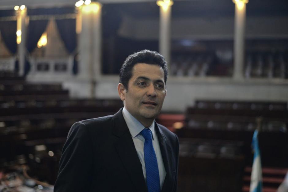 El recién electo presidente del Congreso conoce al mandatario desde hace cerca de 26 años. (Foto: Wilder López/Soy502)