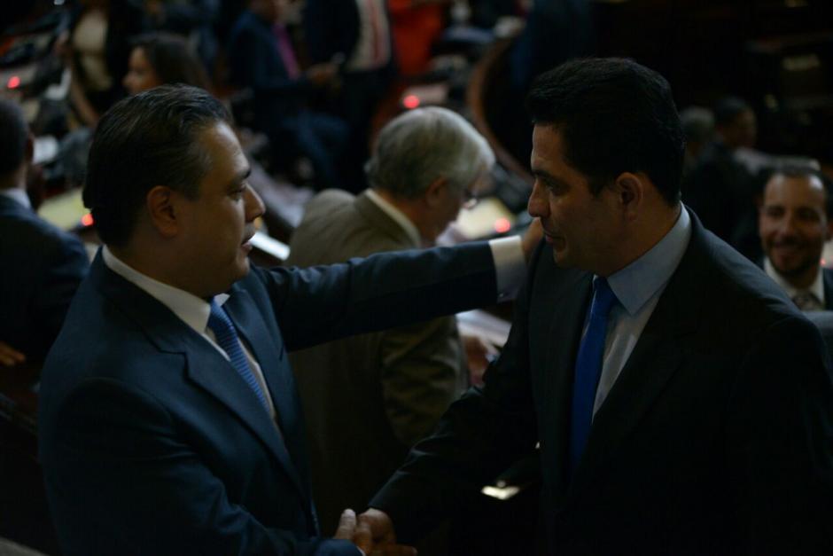 Óscar Chinchilla tuvo el respaldo del oficialismo para ser electo como Presidente del Congreso. (Foto: Wilder López/Soy502)