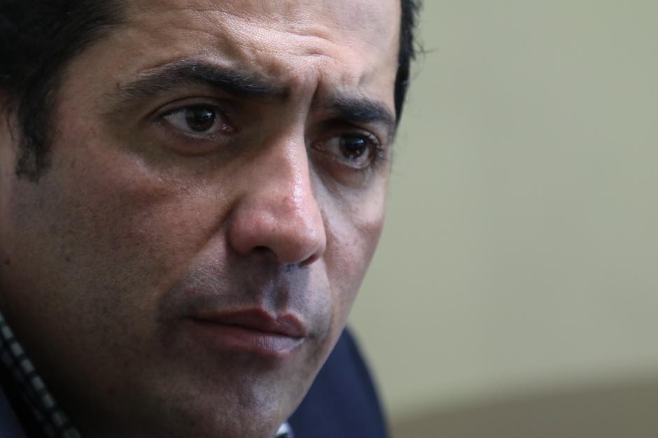 Óscar Chinchilla asumirá la presidencia del Congreso el 14 de enero. (Foto: Alejandro Balán/Soy502)