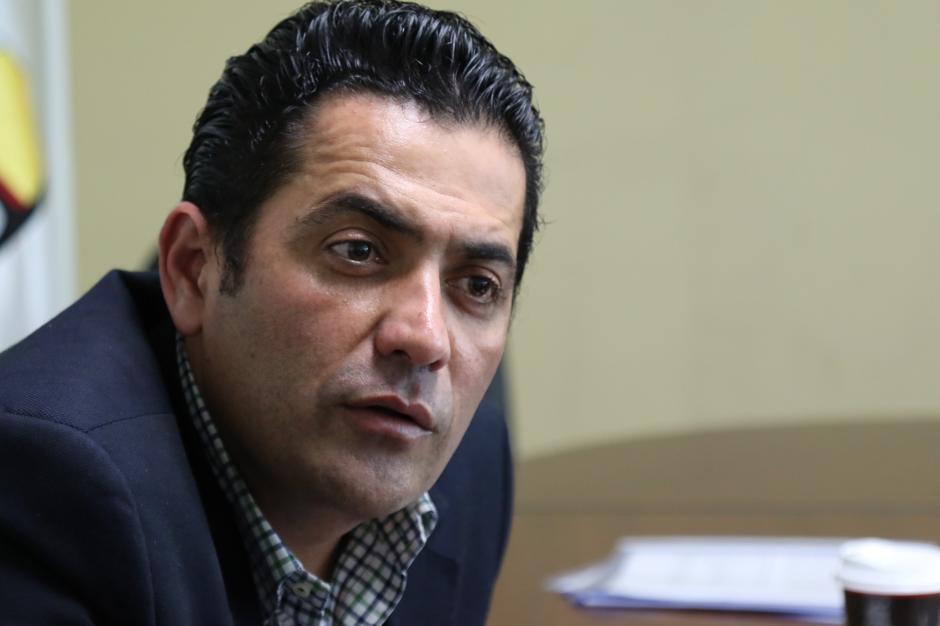 El próximo presidente del Congreso fue respaldado por FCN y sus aliados. (Foto: Alejandro Balán/Soy502)