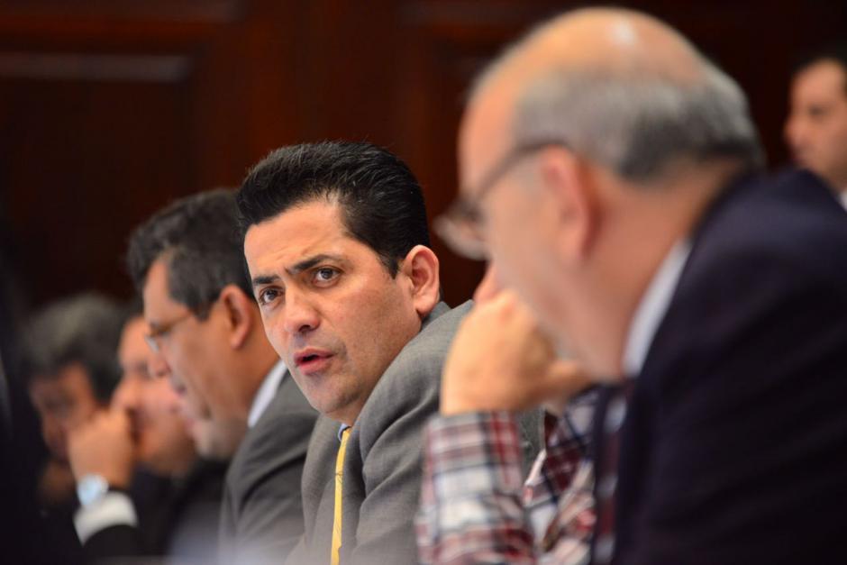 Óscar Chinchilla fue juramentado el pasado sábado. (Foto: Jesús Alfonso/Soy502)