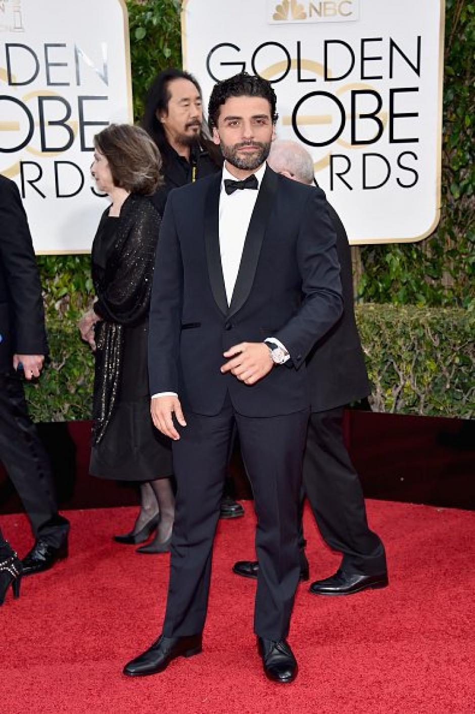 Los fanáticos estuvieron pendientes del paso de Oscar Isaac, incluso algunos comentaristas recordaron su papel en Star Wars. (Foto: Juan Espinoza)