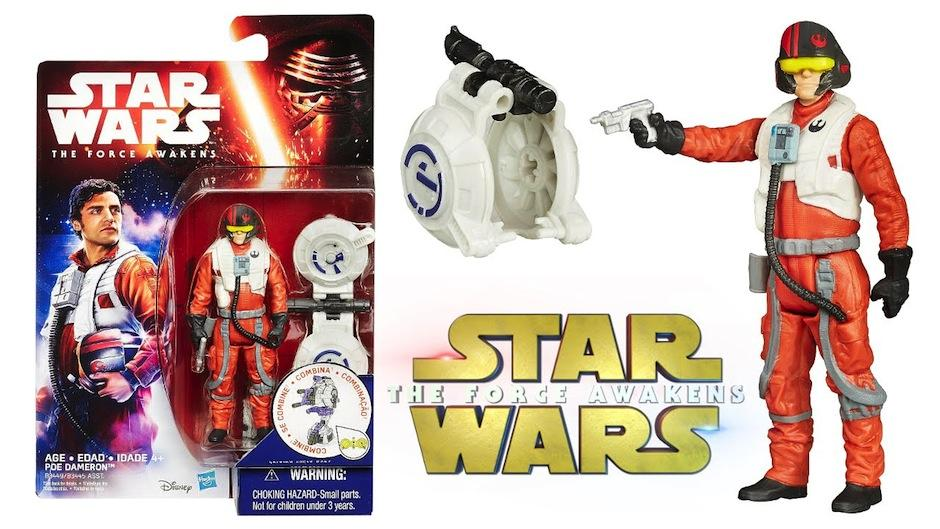 """El actor guatemalteco Oscar Isaac ya tiene su propia figura de acción como parte del film Star Wars, """"El Despertar de la Fuerza"""". (Foto: YouTube)"""