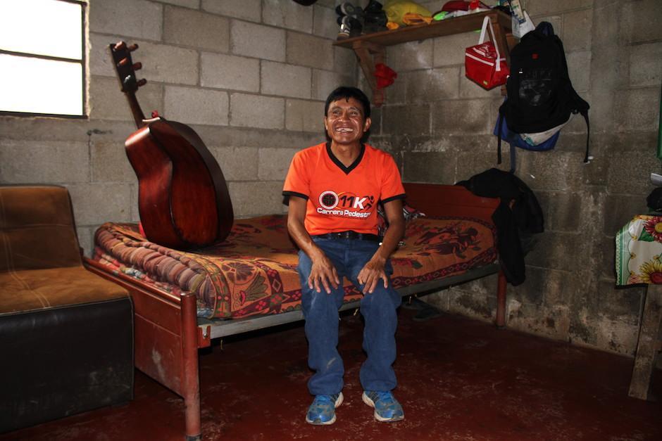 Óscar Raxón es el guatemalteco que representará al país en los Juegos Paralímpicos. (Foto: Luis Barrios/Soy502)