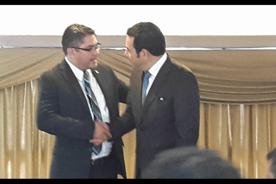 Othmar Sánchez es diputado del Parlacen y compadre de Jimmy Morales. (Foto: Facebook, Othmar.Sánchez)