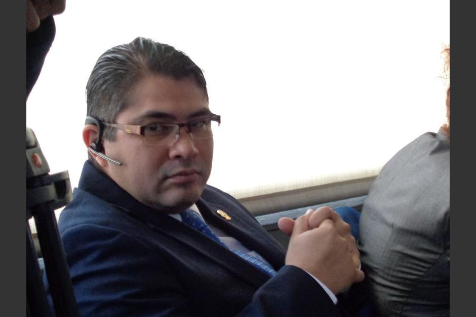 Othmar Sánchez es uno de los amigos cercanos al Presidente Jimmy Morales. (Foto: José Miguel Castañeda/Soy502)