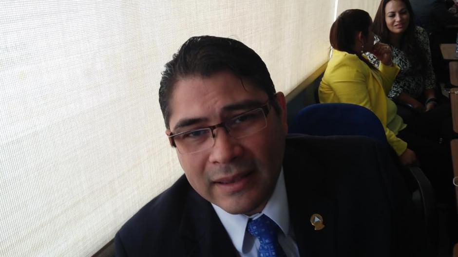 Sánchez es diputado en el Parlacen. (Foto: José Miguel Castañeda/Soy502)