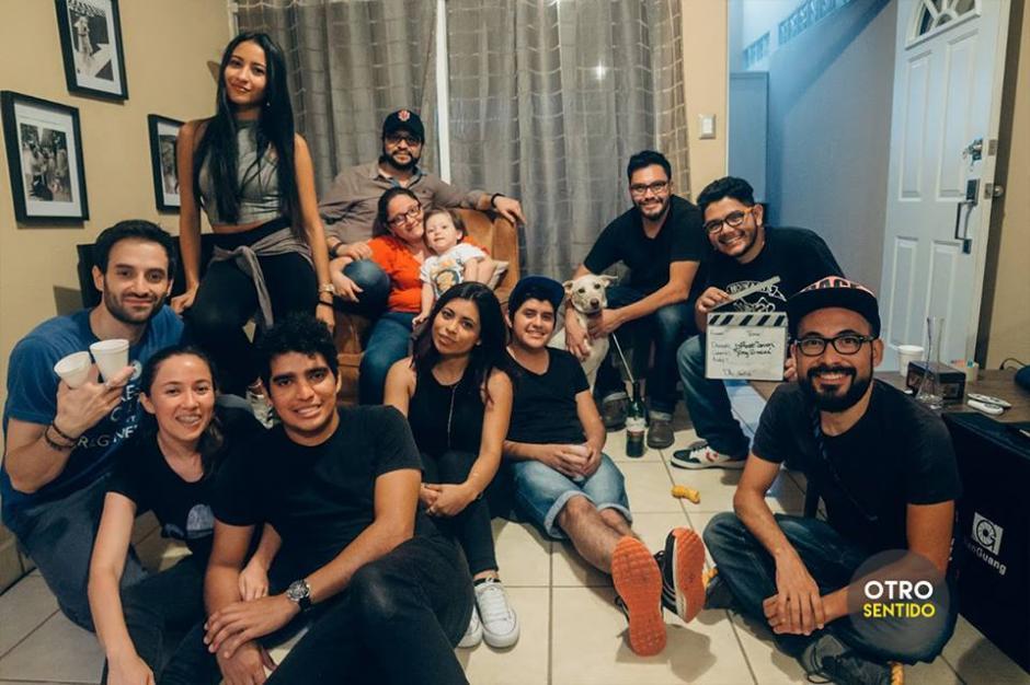 Este es el equipo que participó en la realización del corto. (Foto: Otro Sentido)