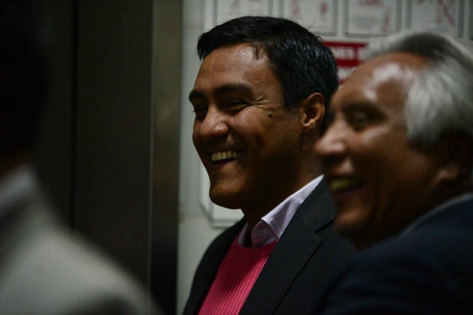 Otto Molina Stalling, el hijo de la magistrada de la CSJ Blanca Stalling es uno de los sindicados en el caso IGSSPisa (Foto: Wilder López/Soy502)