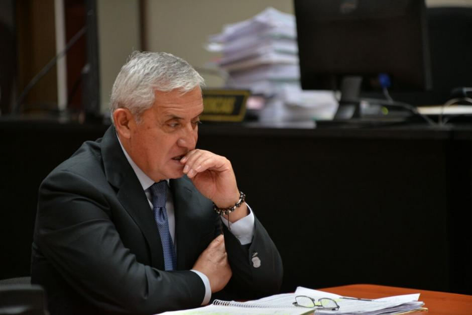 Se desconoce cuándo volverá a agendarse la etapa para saber si Otto Pérez irá a juicio. (Foto: Wilder López/Soy502)