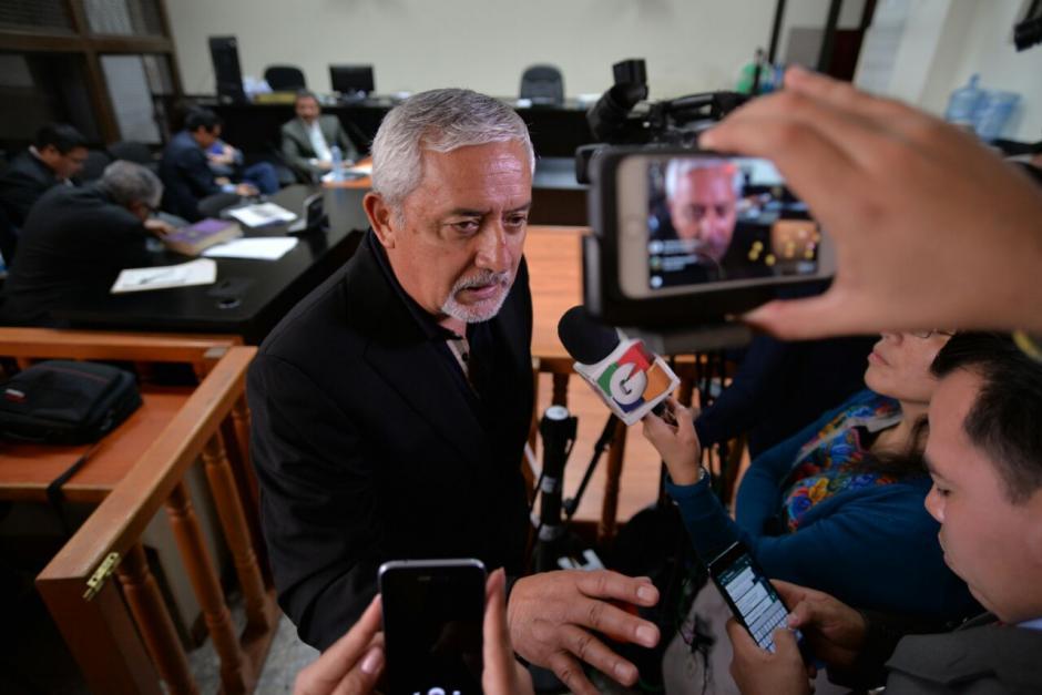 Otto Pérez Molina acusó a Iván Velásquez de hacer un circo de cada caso que investiga la CICIG. (Foto: Wilder López/Soy502)