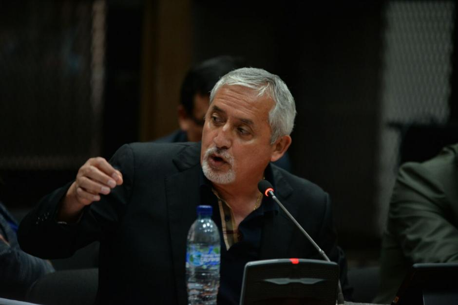 Pérez Molina arremetió contra Gálvez, la CICIG, el MP y los medios de comunicación. (Foto: Wilder López/Soy502)