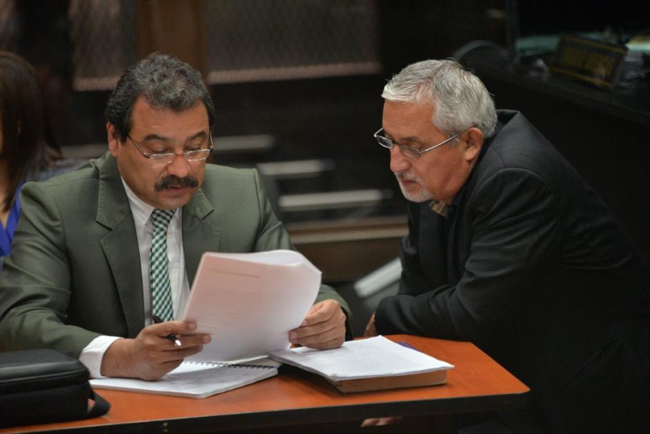 """Pérez Molina aceptó las palabras de Alejandro Sinibaldi y dijo también que Juan Carlos Monzón es un """"sapo"""". (Foto: Wilder López/Soy502)"""