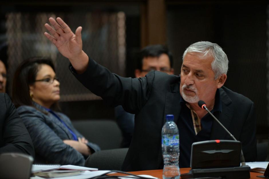 La defensa del exmandatario plantea que Gálvez ya emitió opinión sobre el caso. (Foto: Wilder López/Soy502)