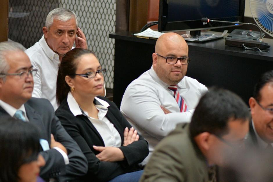 Otto Pérez fue trasladado a Tribunales por un nuevo caso de corrupción. (Foto: Wilder López/Soy502)