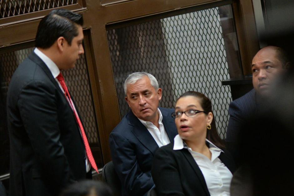 A su salida de Tribunales no ofreció declaraciones a la prensa. (Foto: Wilder López/Soy502)