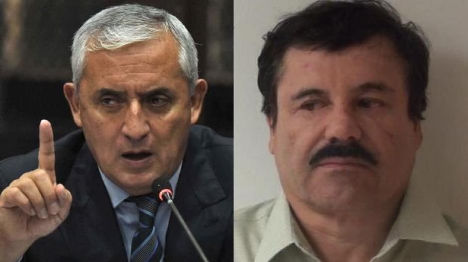 """La historia entre Otto Pérez Molina y """"El Chapo"""" Guzmán inició en 1993. (Foto: El Comercio)"""