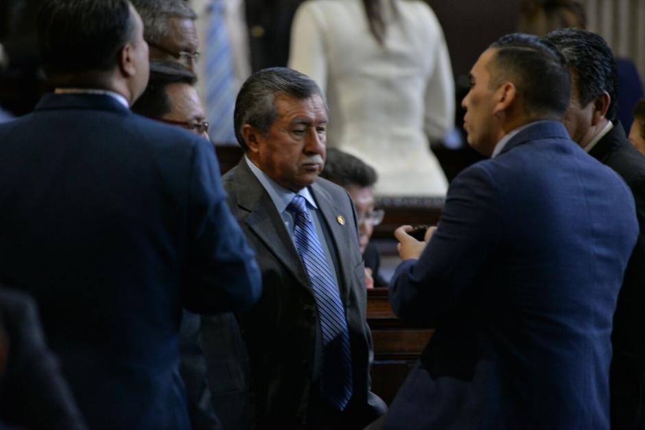 El diputado Edgar Ovalle enfrenta un proceso de antejuicio por desapariciones forzadas. (Foto: Archivo/Soy502)